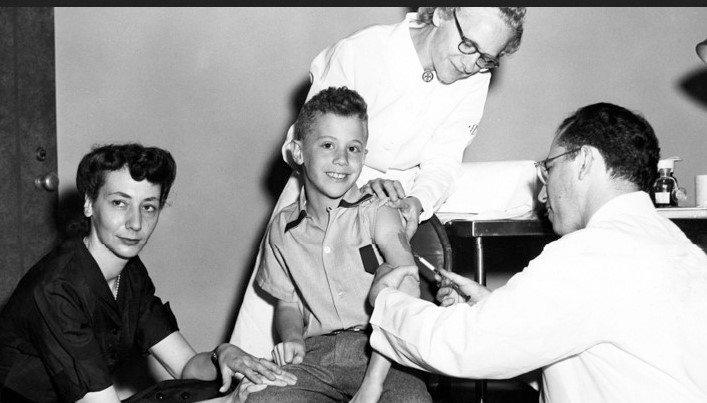 Vaccine being Injected